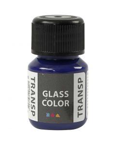 Glass Color Transparent, brilliant blue, 30 ml/ 1 bottle