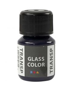 Glass Color Transparent, navy blue, 30 ml/ 1 bottle