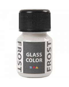 Glass Color Frost, white, 30 ml/ 1 bottle