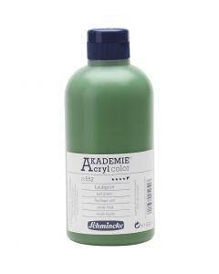 Schmincke AKADEMIE® Acryl color, semi-transparent, leaf green (552), 500 ml/ 1 bottle