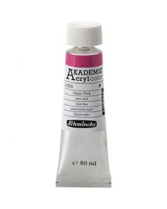 Schmincke AKADEMIE® Acryl color, neon pink (855), 60 ml/ 1 bottle