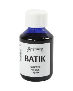 Batik dye, brilliant blue, 100 ml/ 1 bottle