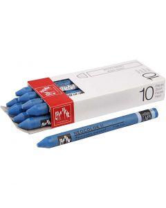 Neocolor II, L: 10 cm, cobalt blue (160), 10 pc/ 1 pack