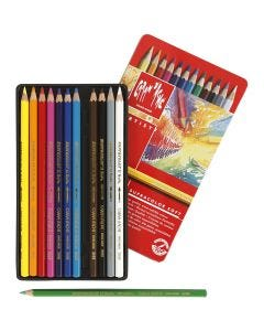 Supracolor II, L: 17 cm, assorted colours, 12 pc/ 1 pack