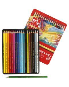 Supracolor II, L: 17 cm, assorted colours, 18 pc/ 1 pack