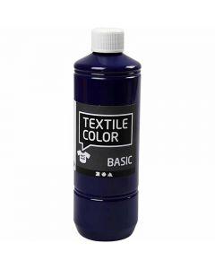 Textile Color Paint, brilliant blue, 500 ml/ 1 bottle