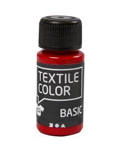 Textile Color Paint, red, 50 ml/ 1 bottle