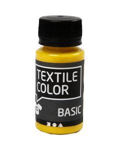 Textile Color Paint, primary yellow, 50 ml/ 1 bottle