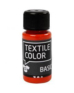 Textile Color Paint, orange, 50 ml/ 1 bottle