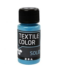 Textile Solid, opaque, turquoise blue, 50 ml/ 1 bottle