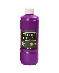 Textile Color Paint, neon lilac, 500 ml/ 1 bottle