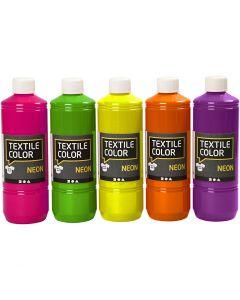 Textile Color Paint, assorted colours, 500 ml/1 pack