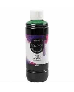 Liquid WaterColour, green, 250 ml/ 1 bottle