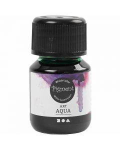 Liquid WaterColour, green, 30 ml/ 1 bottle