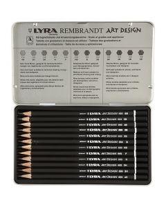 Art Design Drawing Pencils, 12 pc/ 1 pack