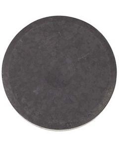 Watercolour, H: 19 mm, D: 57 mm, black, 6 pc/ 1 pack