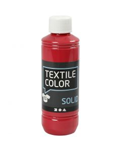 Textile Solid, opaque, red, 250 ml/ 1 bottle