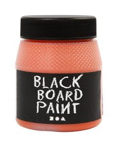 Blackboard Paint, orange, 250 ml/ 1 pack