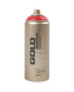 Spray paint, red, 400 ml/ 1 tub