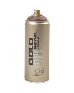 Spray paint, brown, 400 ml/ 1 tub