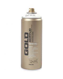 Spray paint, white, 400 ml/ 1 tub