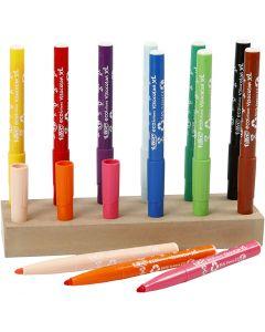 Visa Color Marker, line 3 mm, assorted colours, 12 pc/ 1 pack