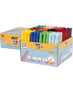 Visa Color Marker, line 3 mm, assorted colours, 144 pc/1 pack