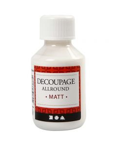 Decoupage Varnish, matt, 100 ml/ 1 bottle