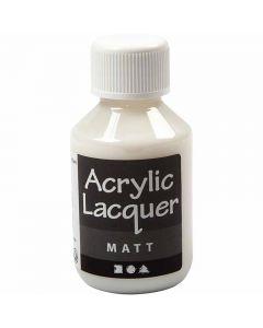 Acrylic Varnish, matt, 100 ml/ 1 bottle