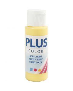 Plus Color Craft Paint, primrose yellow, 60 ml/ 1 bottle