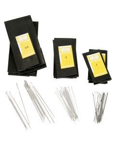 Darning Needles, no. 3/0+5+7, L: 48-65 mm, 150 pc/ 1 pack