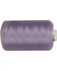 Sewing Thread, L: 1000 yards, purple, 915 m/ 1 roll