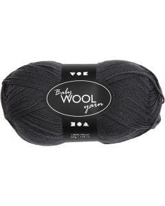 Baby Yarn, L: 172 m, dark grey, 50 g/ 1 ball