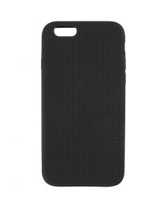 Mobile Phone Cover To Embroider, no. 6/6S, size 6,8x13,8 cm, black, 1 pc
