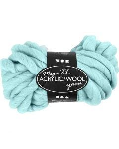Chunky yarn of acrylic/wool
