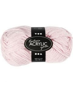 Fantasia Acrylic Yarn, L: 80 m, light red, 50 g/ 1 ball