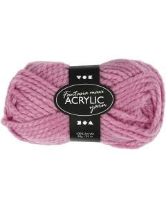 Fantasia Acrylic Yarn, L: 35 m, size maxi , rose, 50 g/ 1 ball