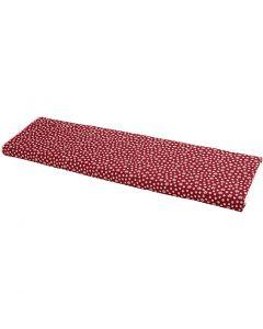 Fabric, W: 145 cm, 140 g, red, 10 m/ 1 roll