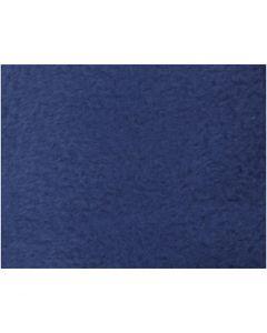 Fleece, L: 125 cm, W: 150 cm, 200 g, blue, 1 pc