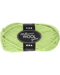 Melbourne Yarn, L: 92 m, neon green, 50 g/ 1 ball