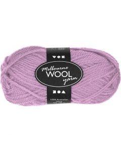 Melbourne Yarn, L: 92 m, rose, 50 g/ 1 ball