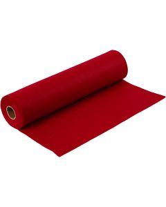 Craft Felt, W: 45 cm, thickness 1,5 mm, 180-200 g, antique red, 5 m/ 1 roll