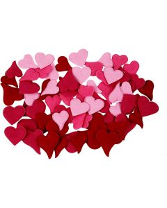 Hearts, 160 pc/ 1 pack