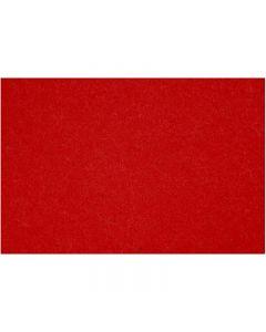 Craft Felt, 42x60 cm, thickness 3 mm, red, 1 sheet