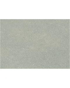 Craft Felt, A4, 210x297 mm, thickness 1 mm, grey, 10 sheet/ 1 pack