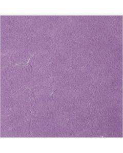 Craft Felt, textured, purple, 10 sheet/ 1 pack