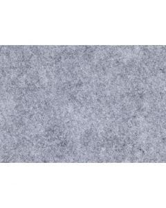 Craft Felt, A4, 210x297 mm, thickness 1,5-2 mm, textured, grey, 10 sheet/ 1 pack