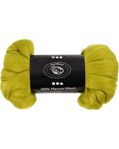 Wool, thickness 21 my, lemon, 100 g/ 1 pack