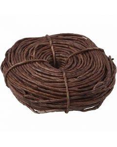Maize string, W: 3,5-4 mm, brown, 300 g/ 1 bundle