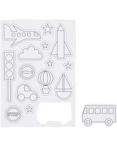 Magnets, 1 sheet